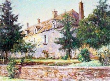 Le Chateau Embellished Limited Edition Print - Leonard Wren