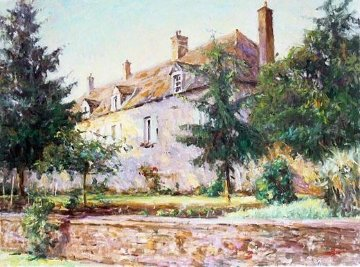 Le Chateau Embellished Limited Edition Print by Leonard Wren