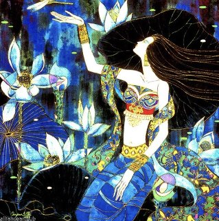 Dragonfly 1990 Limited Edition Print by Wu Jian