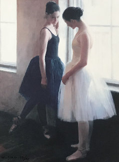 Two Ballerinas 1997 Limited Edition Print by Wu Jian