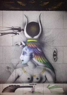 Aida 1978 Limited Edition Print by Paul Wunderlich