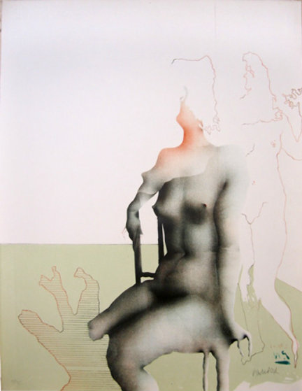 Bien Assise 1970 Limited Edition Print by Paul Wunderlich