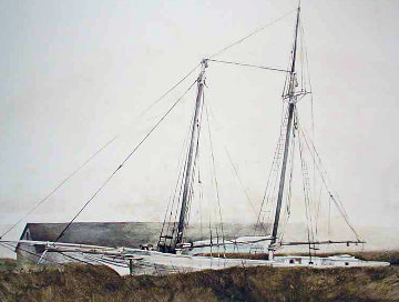 Slip 1977 Limited Edition Print by Andrew Wyeth