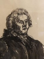 Colonial Figure With Pipe Drawing HS  15x20  Drawing by Andrew Wyeth - 2