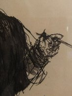 Colonial Figure With Pipe Drawing HS  15x20  Drawing by Andrew Wyeth - 3