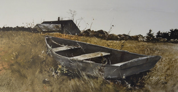 Teel's Island 1976 Limited Edition Print by Andrew Wyeth