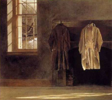 Quaker 1979 Limited Edition Print by Andrew Wyeth