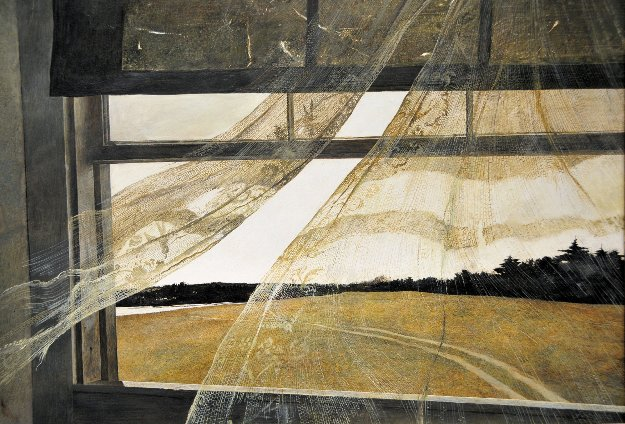 Wind From the Sea Limited Edition Print by Andrew Wyeth