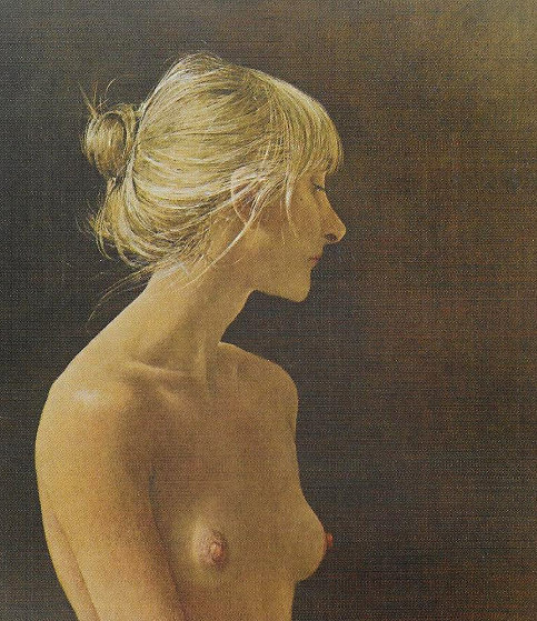 Beauty Mark 1984 HS Limited Edition Print by Andrew Wyeth