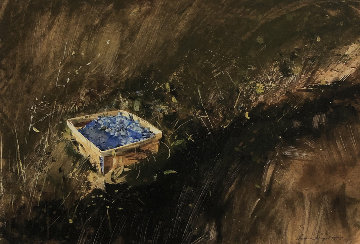 Blueberries, Study For Distant Thunder 2007 Limited Edition Print - Andrew Wyeth