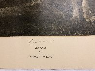 Raccoon 1972 - Hand Signed Limited Edition Print by Andrew Wyeth - 2