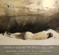 Helga Pictures,  a Study For Baracoon  1976 HS by Helga and Andrew Limited Edition Print by Andrew Wyeth - 1