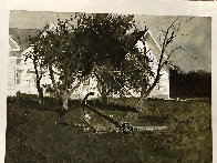 Sea Anchor 1977 Hand Signed Limited Edition Print by Andrew Wyeth - 2