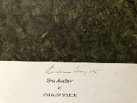 Sea Anchor 1977 Hand Signed Limited Edition Print by Andrew Wyeth - 1
