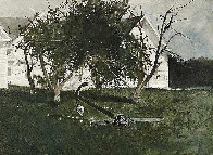 Sea Anchor 1977 Hand Signed Limited Edition Print by Andrew Wyeth - 0