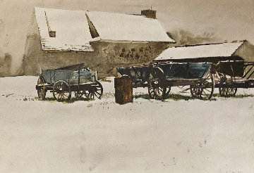 Rural Holiday Limited Edition Print - Andrew Wyeth
