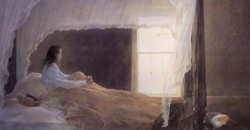Chambered Nautilus 2002 HS  Limited Edition Print by Andrew Wyeth