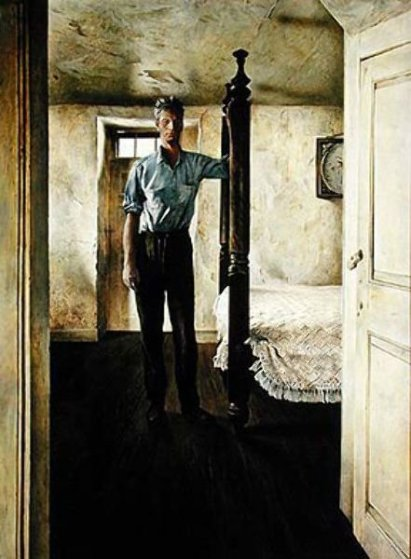 Arthur Cleveland HS  Limited Edition Print by Andrew Wyeth