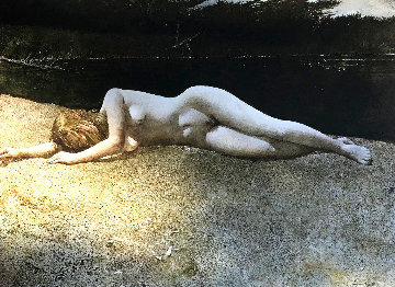 Black Water 1978 Limited Edition Print - Andrew Wyeth
