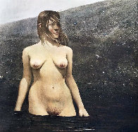 Sea Bed 1980 HS Limited Edition Print by Andrew Wyeth - 0