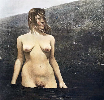 Sea Bed 1980 HS Limited Edition Print by Andrew Wyeth