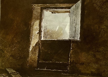 Top of the Mill HS Limited Edition Print - Andrew Wyeth