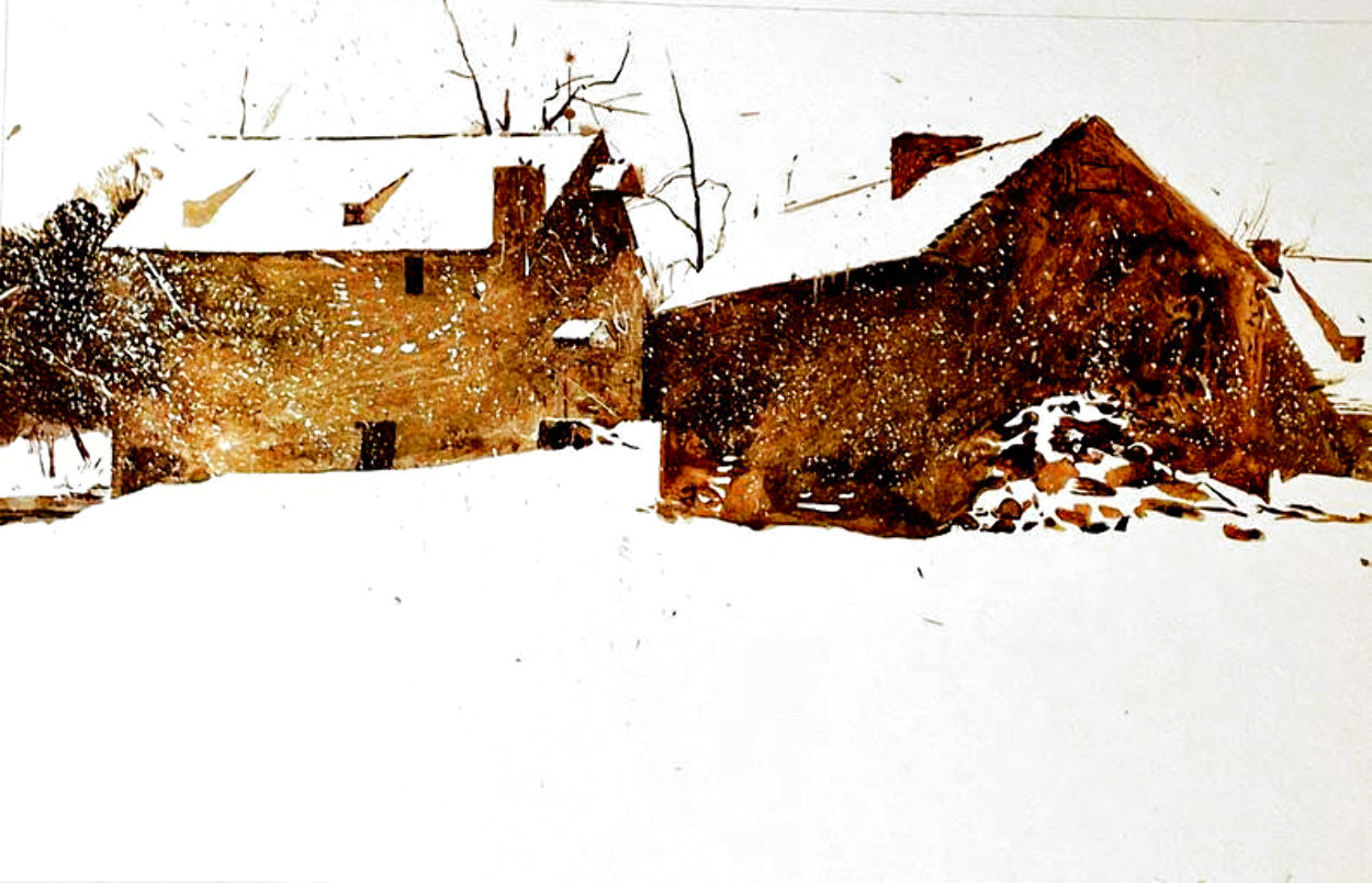 Brinton's Mill 1962 HS Limited Edition Print by Andrew Wyeth