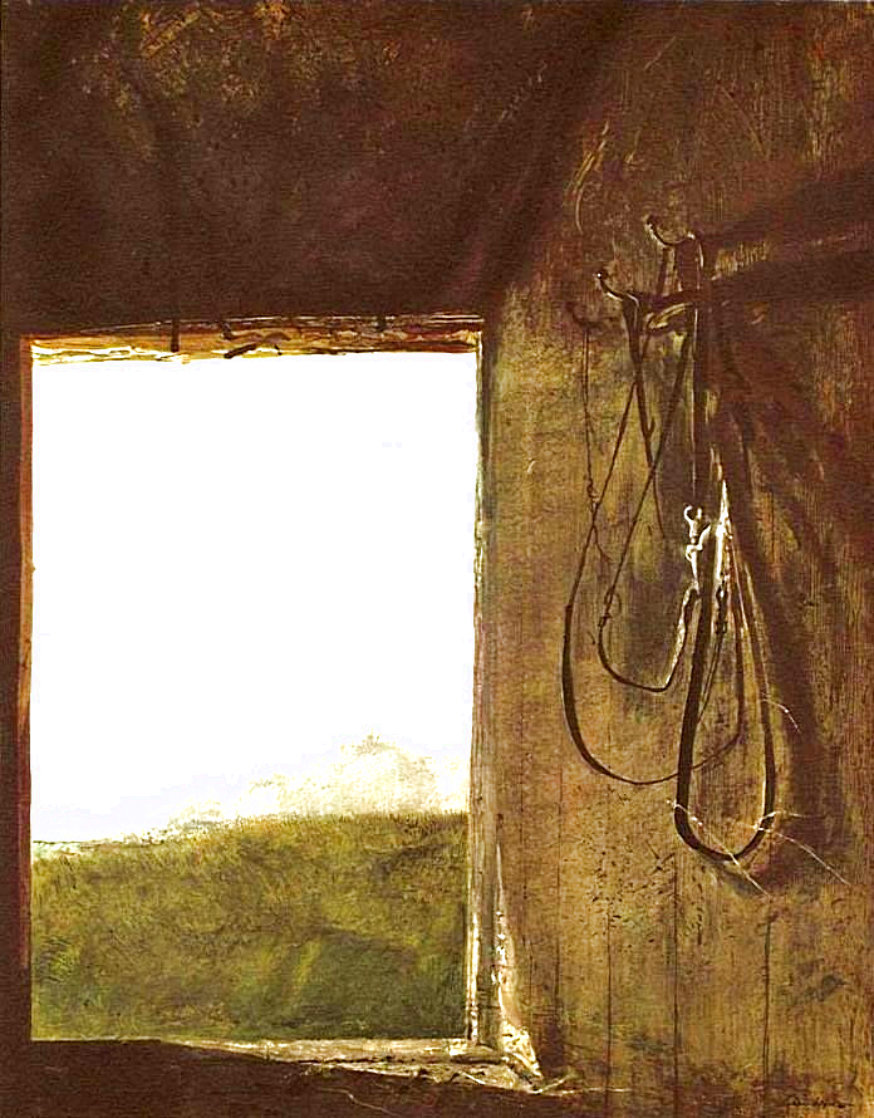 Burning Off 1962 HS Other by Andrew Wyeth