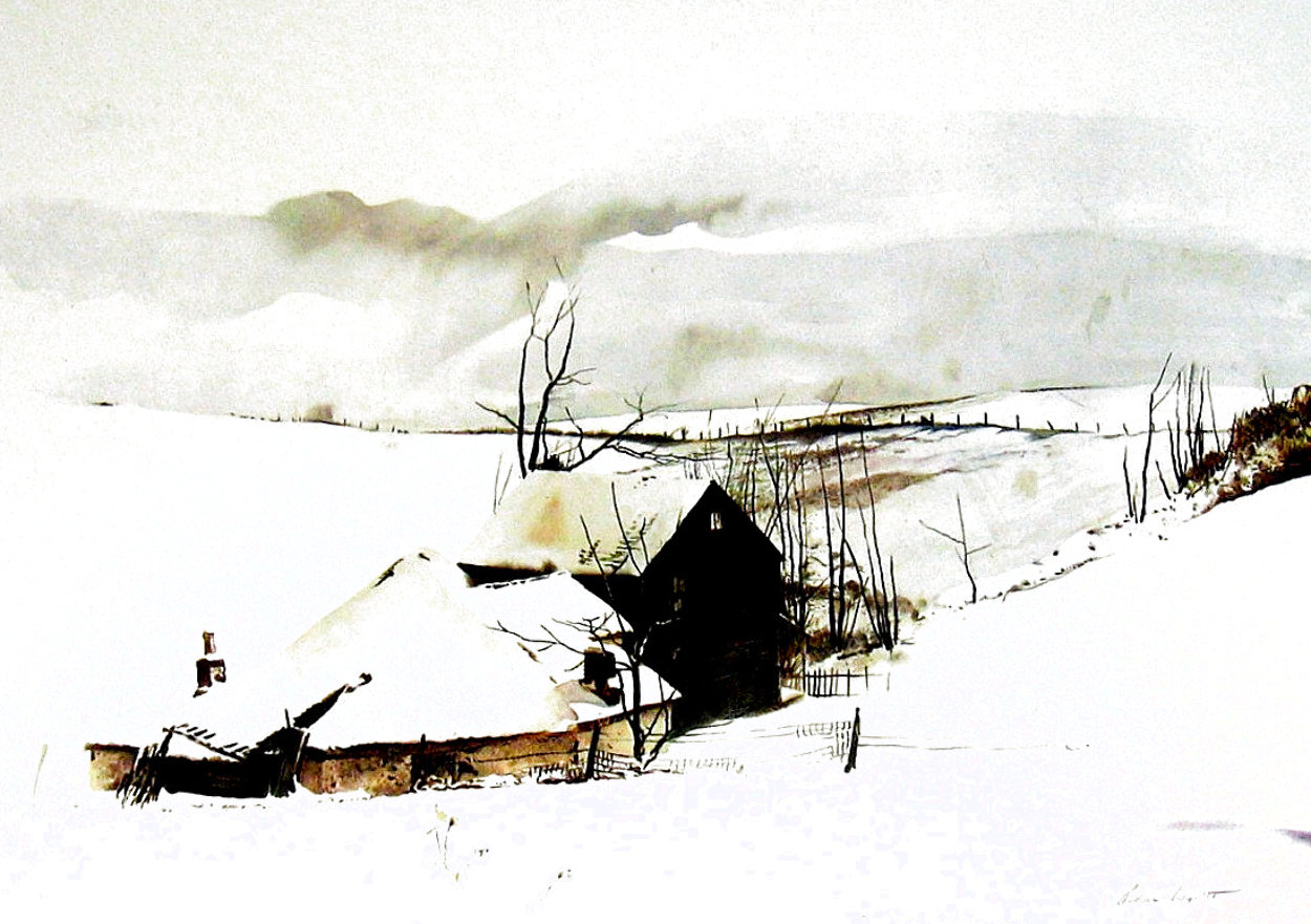 Corner 1962 HS Limited Edition Print by Andrew Wyeth