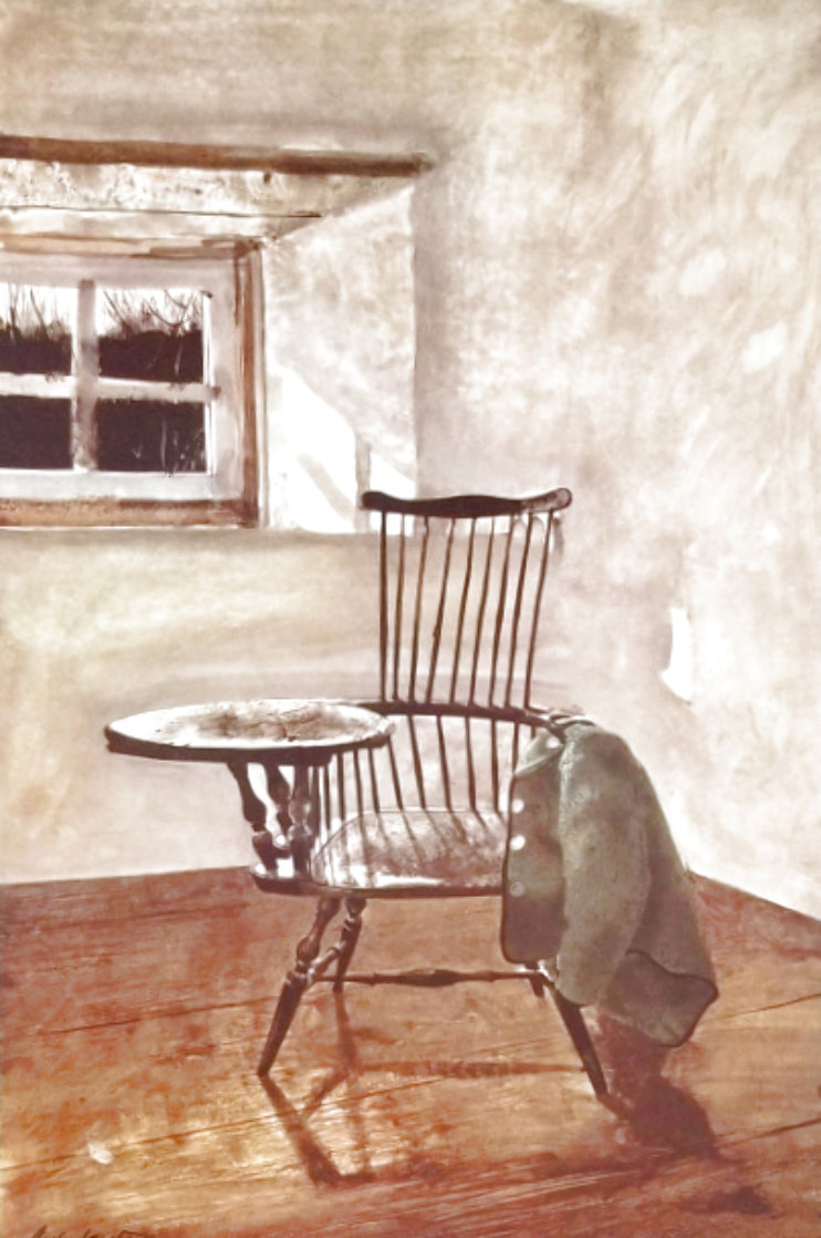 Early October 1962 HS Limited Edition Print by Andrew Wyeth