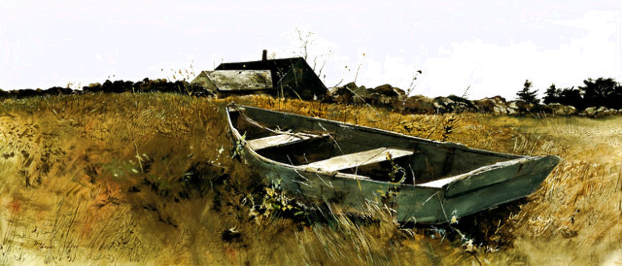Teel's Island 1962 HS Limited Edition Print by Andrew Wyeth