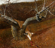 Jacklight 1982 HS Hand Digned Limited Edition Print by Andrew Wyeth - 0