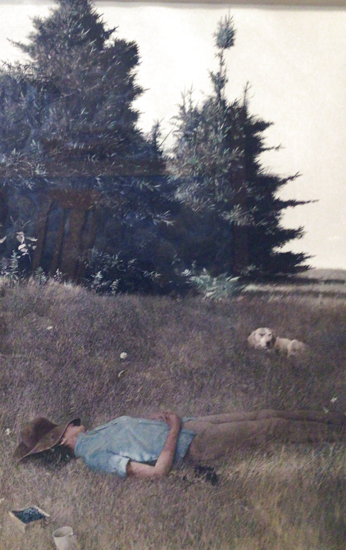Distant Thunder 1980 HS Limited Edition Print by Andrew Wyeth