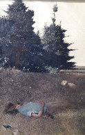 Distant Thunder 1980 HS Limited Edition Print by Andrew Wyeth - 0