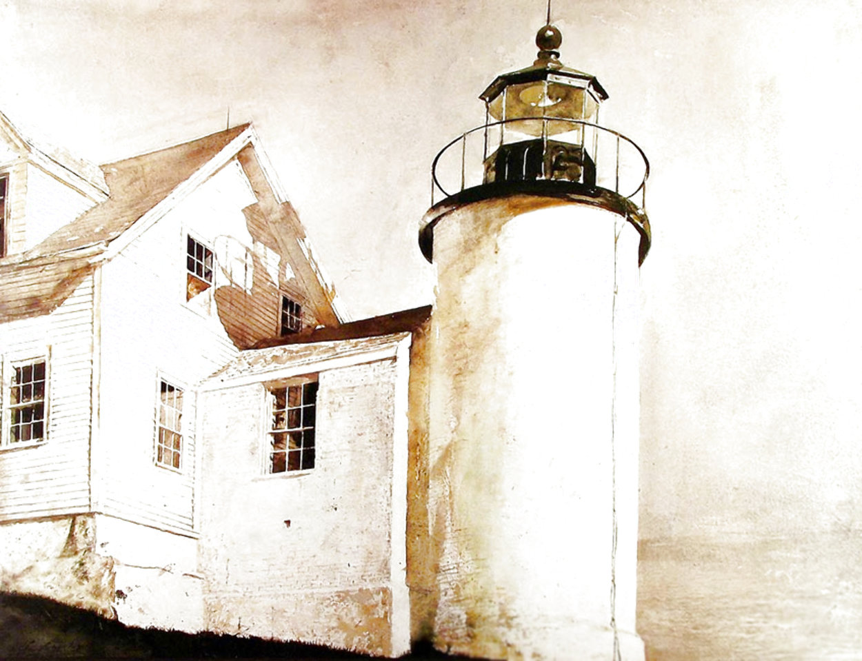 Ground Wire Poster Limited Edition Print by Andrew Wyeth