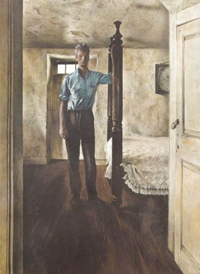 Arthur Cleveland 1965 HS Limited Edition Print by Andrew Wyeth