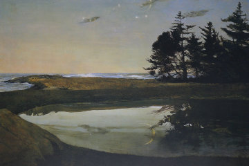 Jupiter 1998 HS Limited Edition Print by Andrew Wyeth