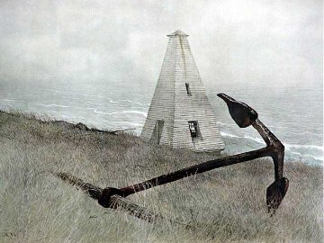 Sea Running HS  1981 Limited Edition Print by Andrew Wyeth