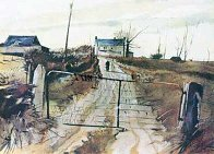 Chester County Farm HS Limited Edition Print by Andrew Wyeth - 0