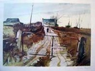 Chester County Farm HS Limited Edition Print by Andrew Wyeth - 2