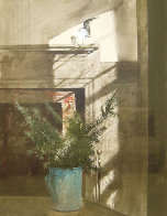 Bird in the House 1984 HS Limited Edition Print by Andrew Wyeth - 0