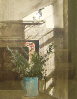 Bird in the House 1984 HS Limited Edition Print by Andrew Wyeth
