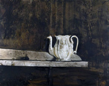 Christina's Teapot 1976  Limited Edition Print by Andrew Wyeth