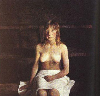 Sauna HS 1978 HS Limited Edition Print by Andrew Wyeth
