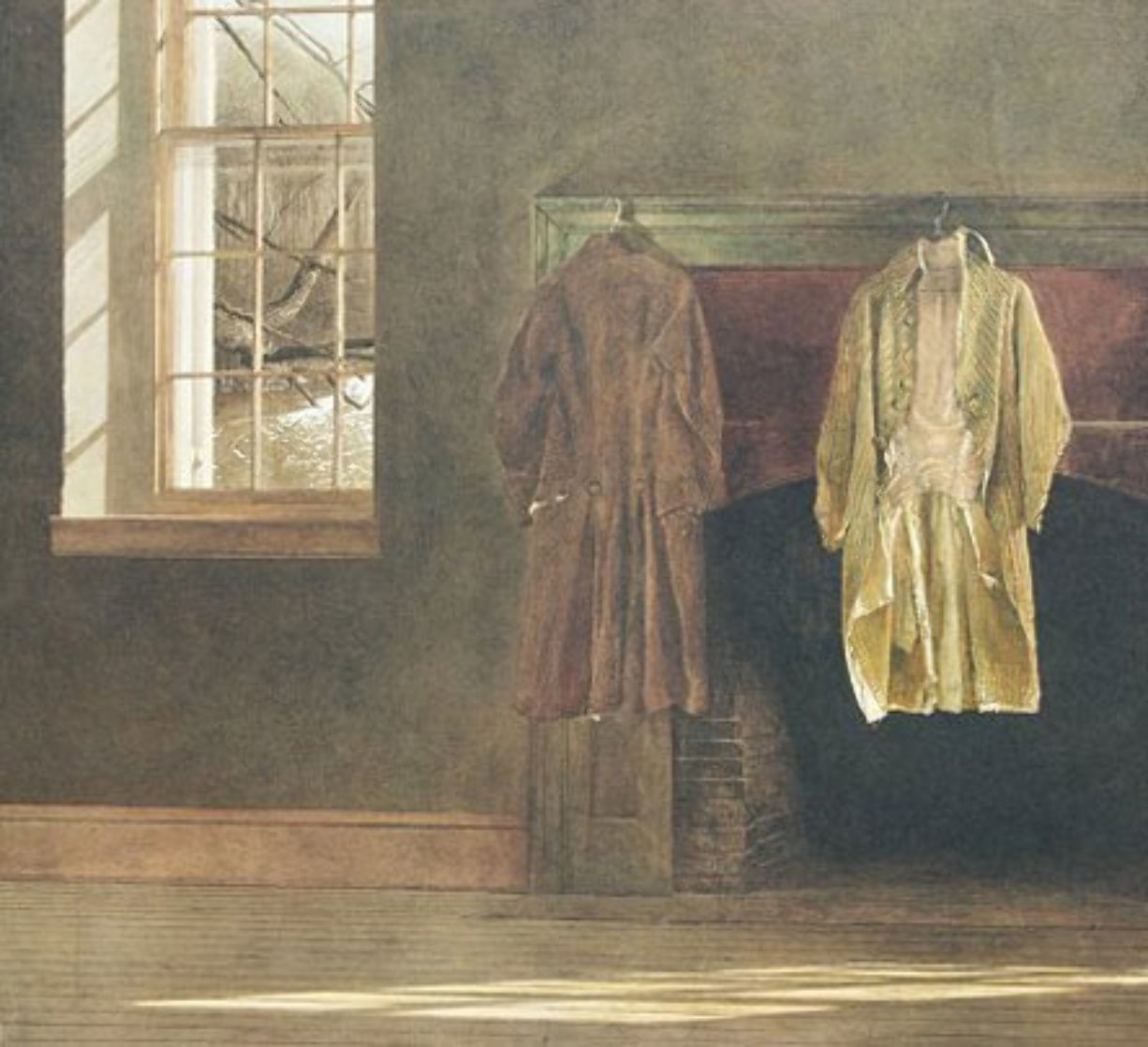Quaker 1976 Limited Edition Print by Andrew Wyeth