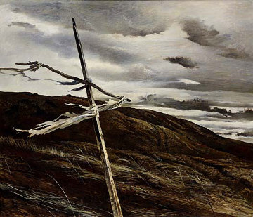 Dodges Ridge HS Limited Edition Print by Andrew Wyeth