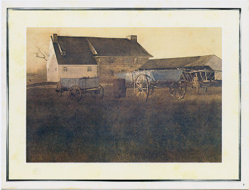 Triton Press suite of 6 1973 Limited Edition Print by Andrew Wyeth