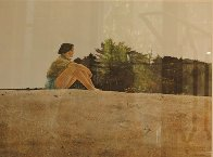 Sandspit HS 1953 HS Limited Edition Print by Andrew Wyeth - 1