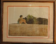 Sandspit HS 1953 HS Limited Edition Print by Andrew Wyeth - 2