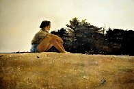 Sandspit HS 1953 HS Limited Edition Print by Andrew Wyeth - 0